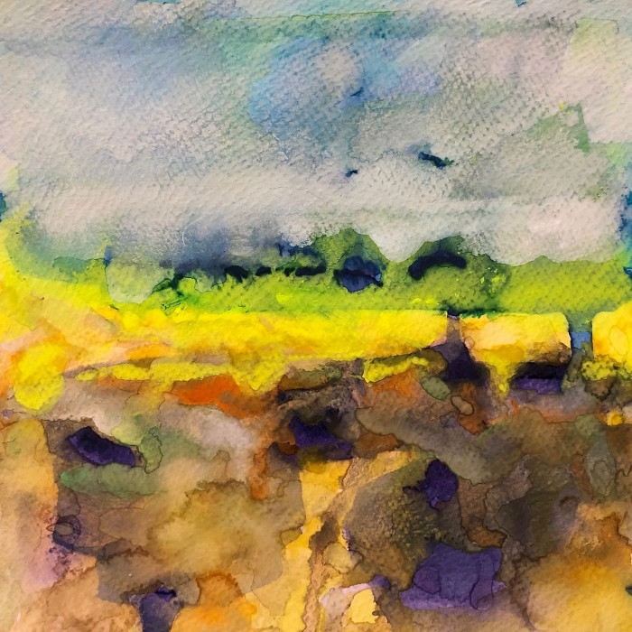 """8"""" x 8"""" Landscape #30"""