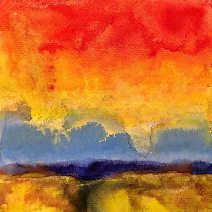 """8"""" x 8"""" Landscape #31"""