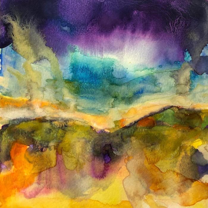"""8"""" x 8"""" Landscape #37"""