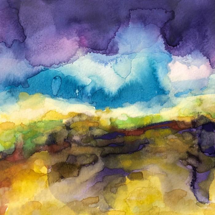 """8"""" x 8"""" Landscape #38"""