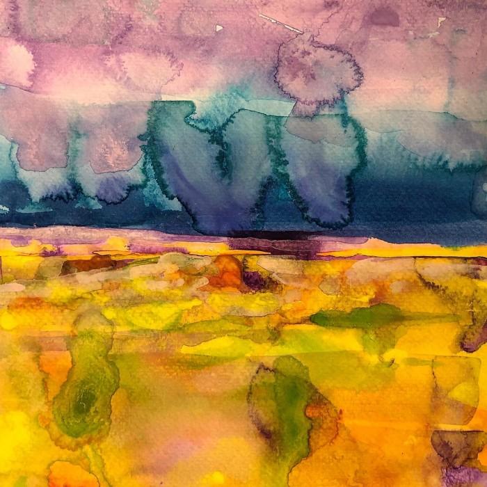 """8"""" x 8"""" Landscape #26"""