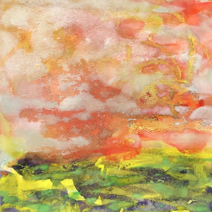"""8"""" x 8"""" Landscape #33"""