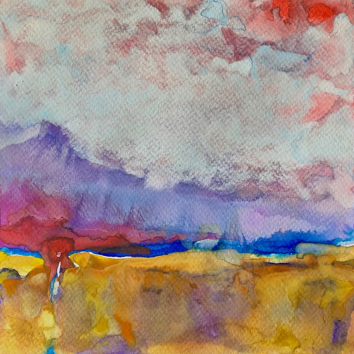 """8"""" x 8"""" Landscape #34"""