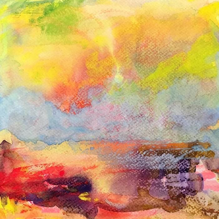 """8"""" x 8"""" Landscape #27"""