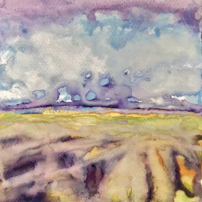 """8"""" x 8"""" Landscape #40"""