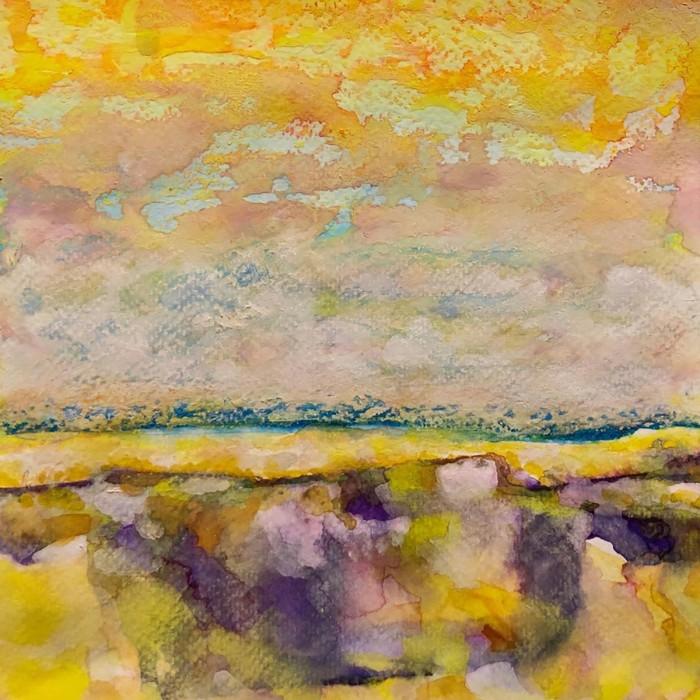 """8"""" x 8"""" Landscape #36"""