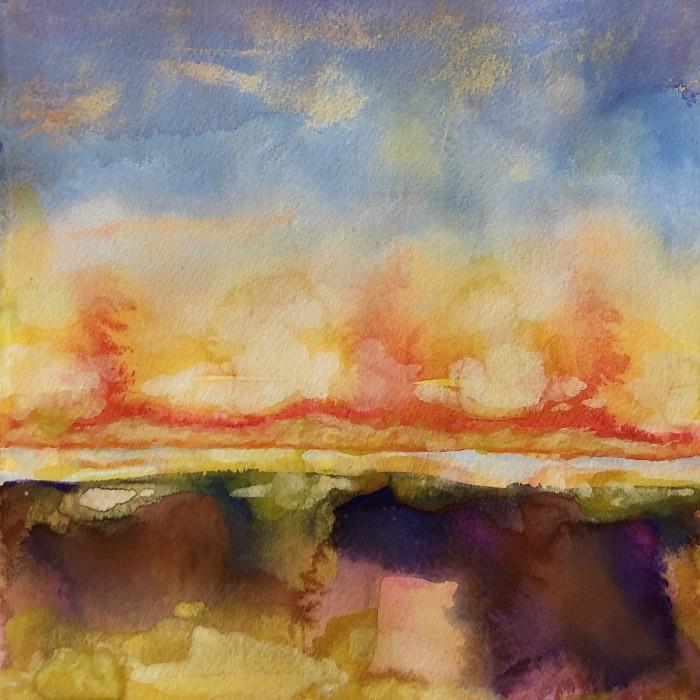"""8"""" x 8"""" Landscape #35"""