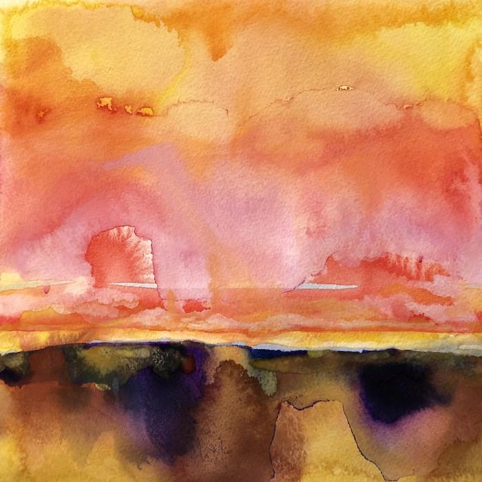 """8"""" x 8"""" Landscape #28"""