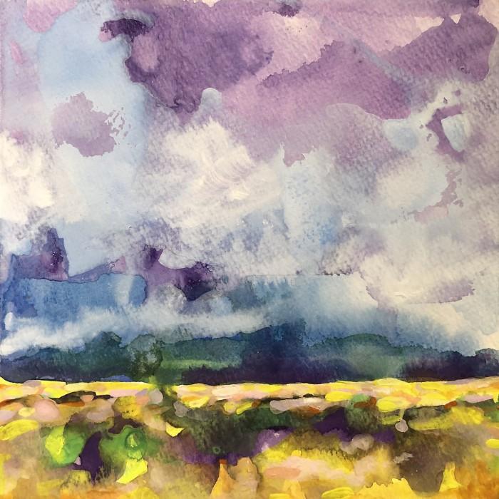 """8"""" x 8"""" Landscape #29"""